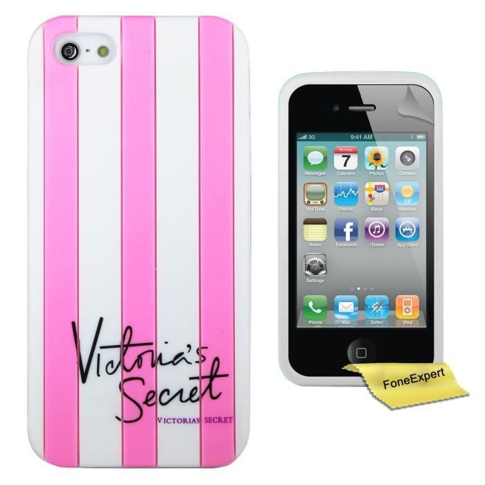 Apple iphone 4 4s etui housse coque victoria 39 s secret for Etui housse iphone 4