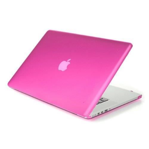 Coque rigide rose macbook air 13 3 achat vente housse for Housse macbook air 13
