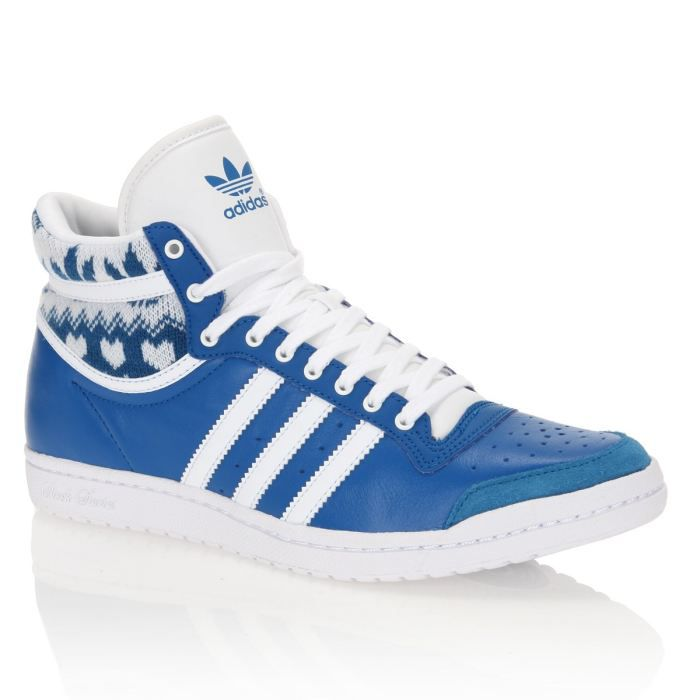 adidas top ten sleek femme