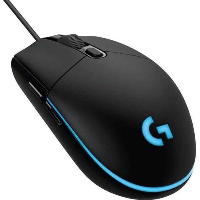 logitech g102 prodigy gaming mouse souris de jeu 6000dpi 6 programmable buttons prix pas cher. Black Bedroom Furniture Sets. Home Design Ideas