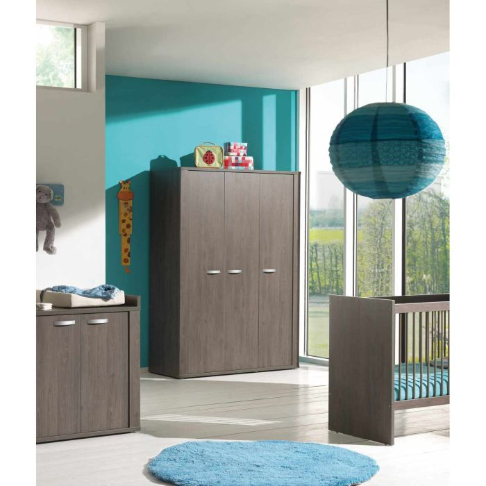 armoire enfant 3 portes robin achat vente armoire de. Black Bedroom Furniture Sets. Home Design Ideas
