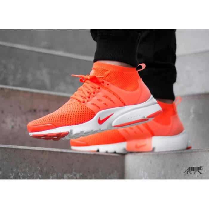 meilleur site web e8388 06e75 low cost nike air presto flyknit yellow red 13115 9cdb4