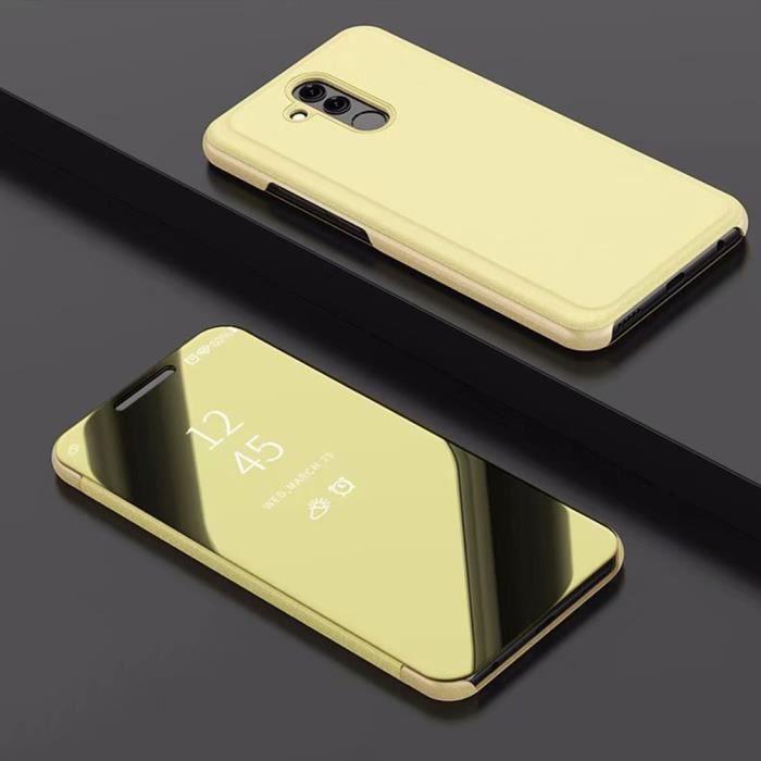 Coque Huawei Mate 20 Lite, Housse Étui Miroir Flip