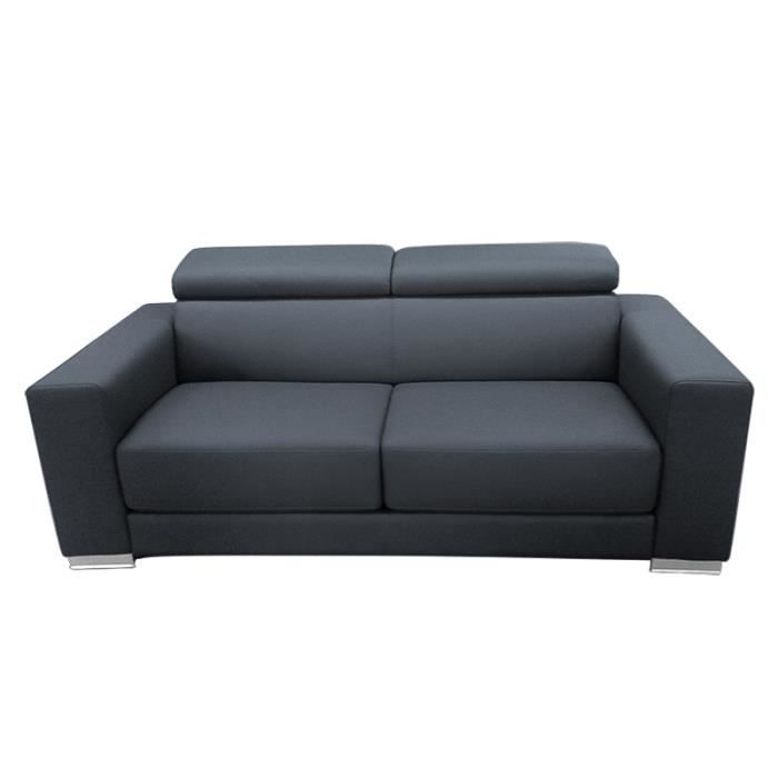 canap convertible rapido riga gris anthracite achat vente canap sofa divan cdiscount. Black Bedroom Furniture Sets. Home Design Ideas