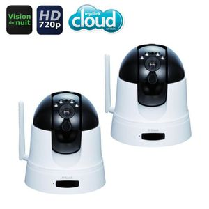 D-Link 2 Caméras IP Full HD DCS-5222L