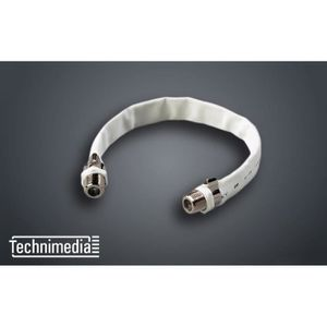 TECHNIMEDIA Cable passe fenetre satellite F / F - 20 cm