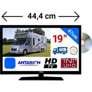 Téléviseur combiné TÉLÉVISEUR DVD CAMPING CAR LED 19