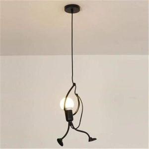 LUSTRE ET SUSPENSION Lustre E27 Lampe Suspension Humanoïde Lampes de Pl