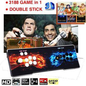 CONSOLE AUTONOME Pandora 12 Console de Jeux Vidéo Arcade, 3188 en 1