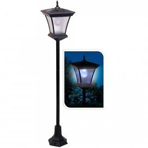 LAMPE DE JARDIN  Lampadaire solaire exterieur de 3 led . Hauteur de