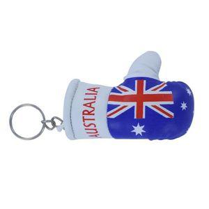 PORTE-CLÉS Porte cles  gant de boxe drapeau australie