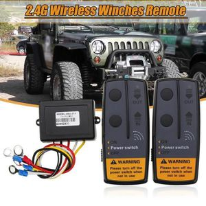 Controleur Télécommande de Treuil Sans Fil Remote Camion Jeep  Quad DC 12V