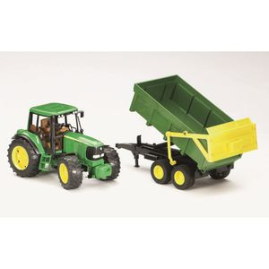 VOITURE - CAMION BRUDER - 2058 - Tracteur John Deere 6920 Avec Remo