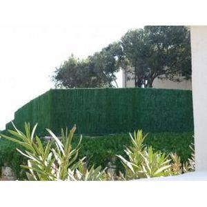 HAIE DE JARDIN haie végétale artificielle h2m x 3m - 110 brins