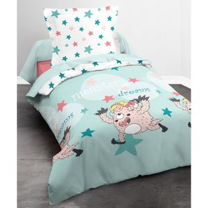 HOUSSE DE COUETTE ET TAIES TODAY HAPPY Parure de couette Monster Dreams 100%
