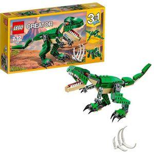 ASSEMBLAGE CONSTRUCTION LEGO® Creator 3-en-1 31058 Le Dinosaure féroce - J