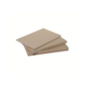 CLÔTURE - GRILLAGE Panneau fibre composite plat et lisse - L: 250 cm