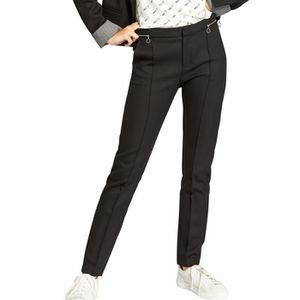 PANTALON Pantalon tailleur zippé slim PARIS Noir