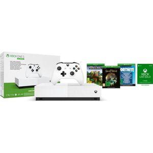 CONSOLE XBOX XBOX One S All Digital Refresh + 3 jeux dématérial