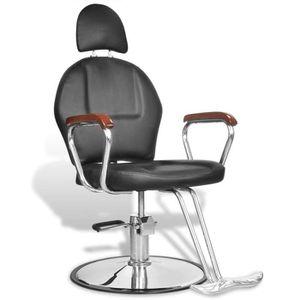 FAUTEUIL DE COIFFURE - BARBIER Fauteuil de coiffure professionnel en simili cuir