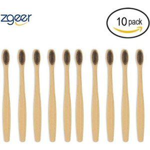 BROSSE A DENTS Brosse à dents au bambou charbon de bois  - 100% n