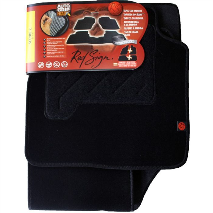 red sign set 3 tapis renault scenic ii achat vente. Black Bedroom Furniture Sets. Home Design Ideas