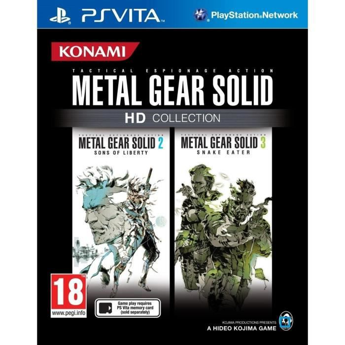 Metal Gear Solid Hd Collection Jeu PS Vita