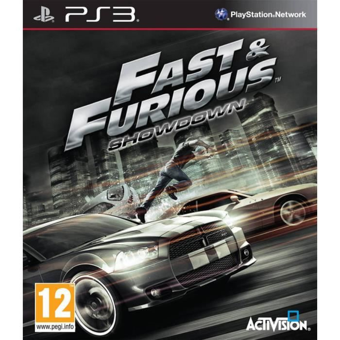 JEU PS3 FAST AND FURIOUS / Jeu console PS3