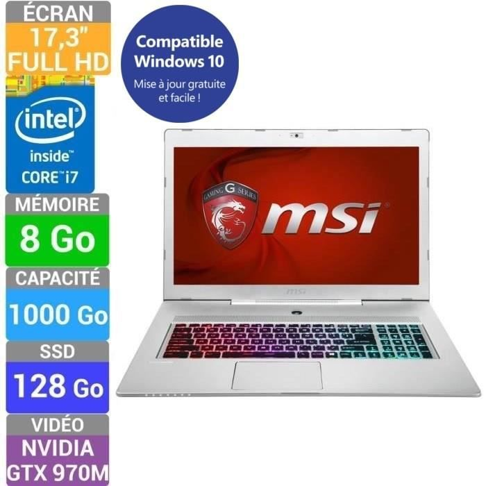 msi pc portable gamer gs70 2qe stealth pro 058fr achat vente ordinateur portable gs70 2qe. Black Bedroom Furniture Sets. Home Design Ideas