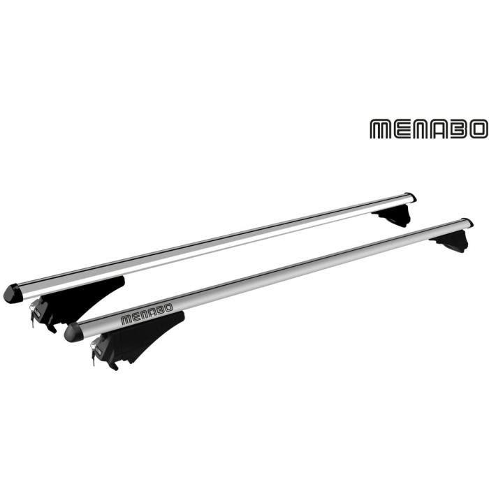 MENABO Barres de Toit Railing pour BMW - Serie 5 (F11) Touring Dès 2013,160