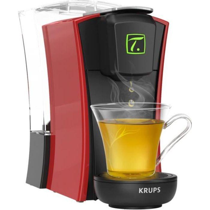 KRUPS YY4120FD Machine à thé à capsules Spécial.T MINI.T - Rouge