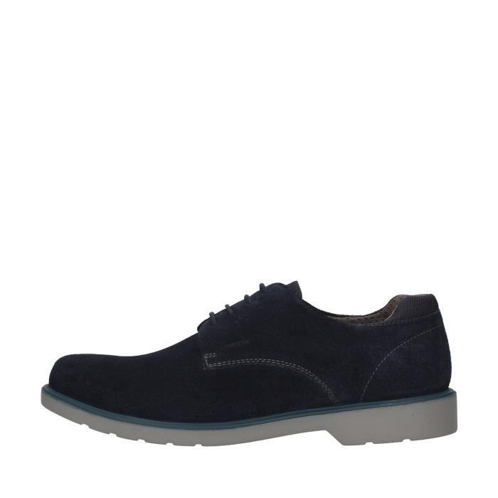 Geox U028WB00022 chaussures de tennis faible homme BLEU MARIN