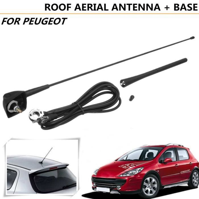NEUFU Antenne et Support de Toit Carré Pour Peugeot 106 205 206 306 307 309 406 806