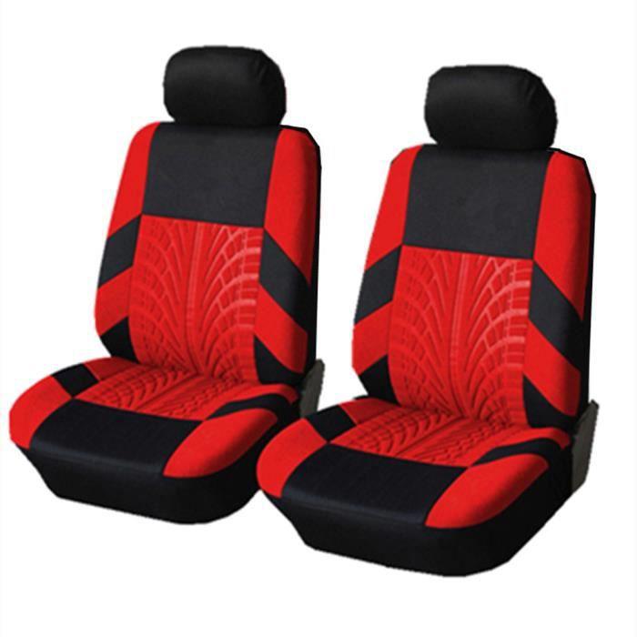 Housse de Siège Auto Universelle coussins pour Siège Voiture,auto Protecteur de siège, Couvre Siège voiture - Rouge04