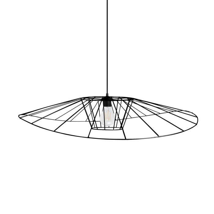 LADY BIRD Suspension filaire - Ø60 x H80 cm - Noir