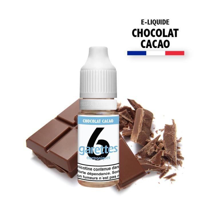 E-liquide 10ML saveur CHOCOLAT sans nicotine (e-liquide id : PROD16) - (1x10ML)