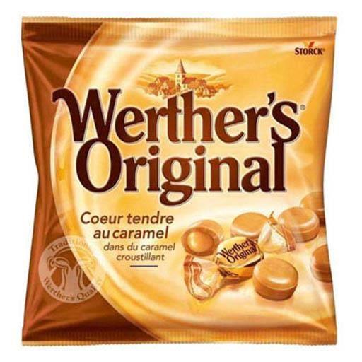 Werther's Original Coeur Tendre au Caramel (lot de 8)