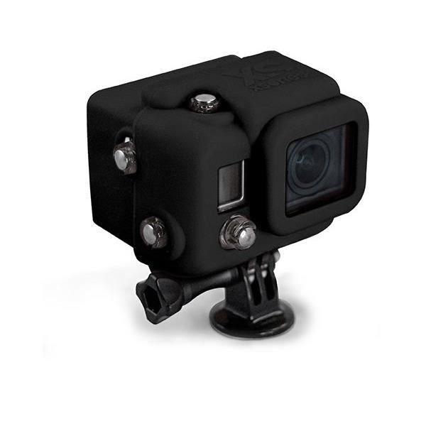 XSORIES Housse en silicone avec Capuche pour GoPro HD Hero3 - Noir