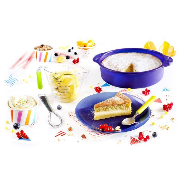 YOKO DESIGN Kit gâteau magique violet, transparent