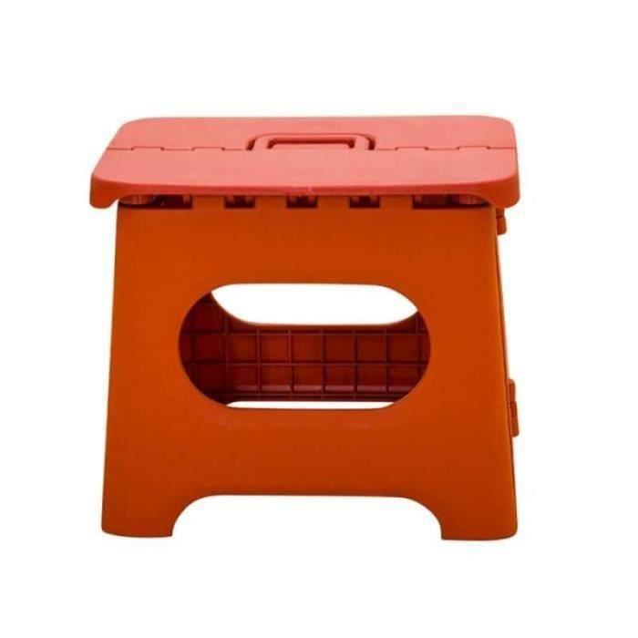 GB11715-tabouret pliant haut tabourets super solides tabouret pliant robuste pour enfants salle de bain adulte rouge