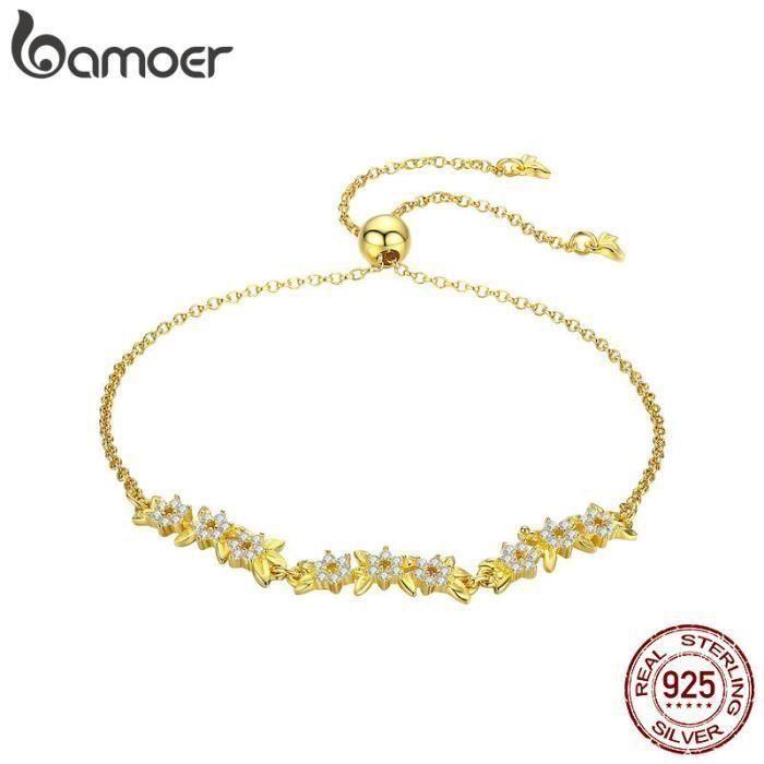 bracelet pandora femme or