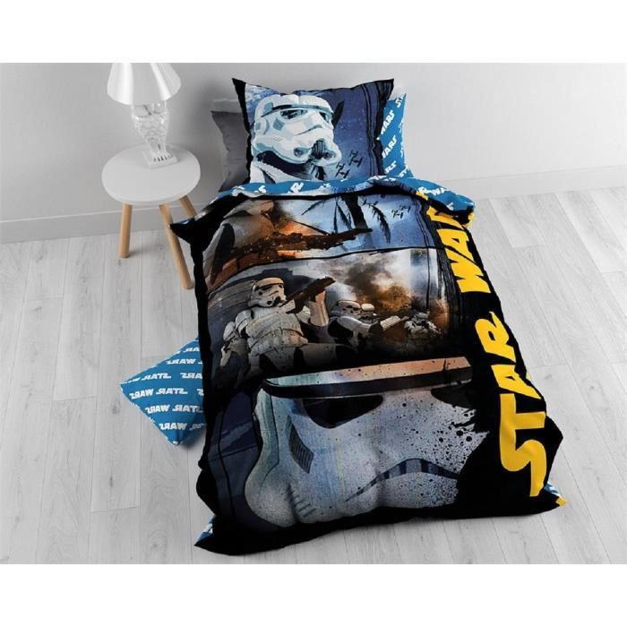 parure de lit star wars achat vente parure de lit star. Black Bedroom Furniture Sets. Home Design Ideas