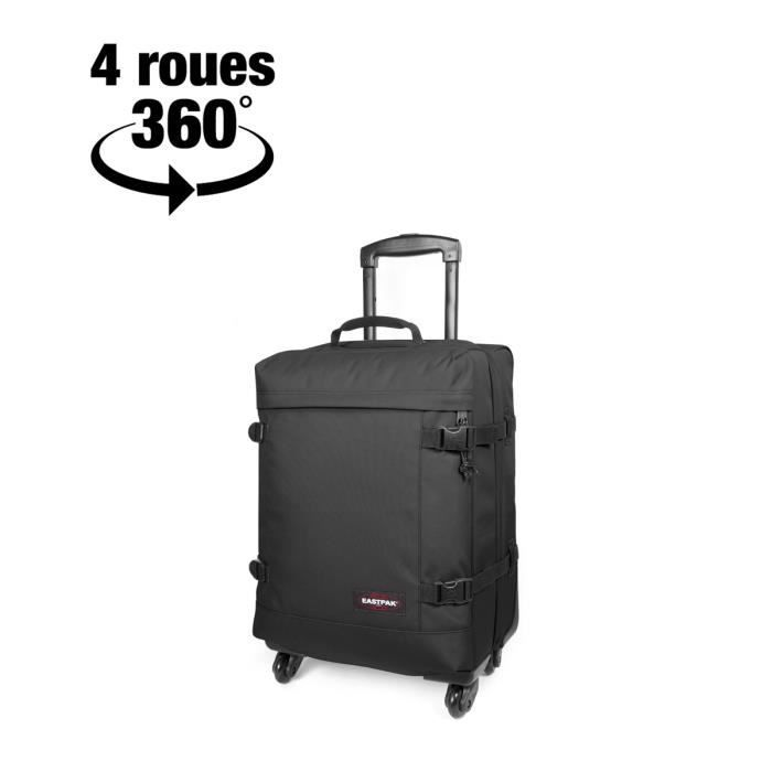 valise cabine souple trans4 s 44 litres 54 008 black achat vente valise bagage. Black Bedroom Furniture Sets. Home Design Ideas