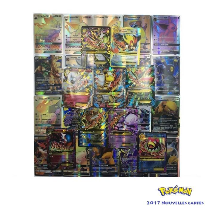 cartes pokemon gx achat vente jeux et jouets pas chers. Black Bedroom Furniture Sets. Home Design Ideas