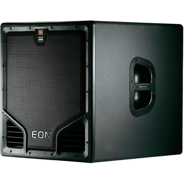 caisson de basses actif jbl eon 518s enceinte et retour. Black Bedroom Furniture Sets. Home Design Ideas
