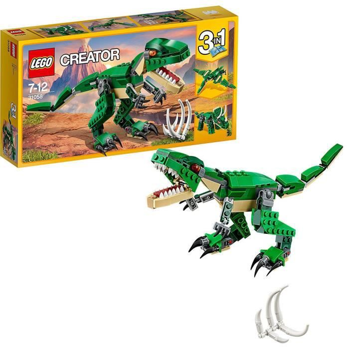 Photo de lego-creator-3-en-1-31058-le-dinosaure-feroce