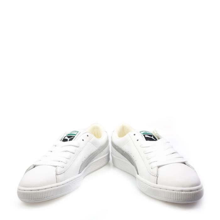 Basket Heritage Men White Grey And Puma Classic Lime 354LcARjq