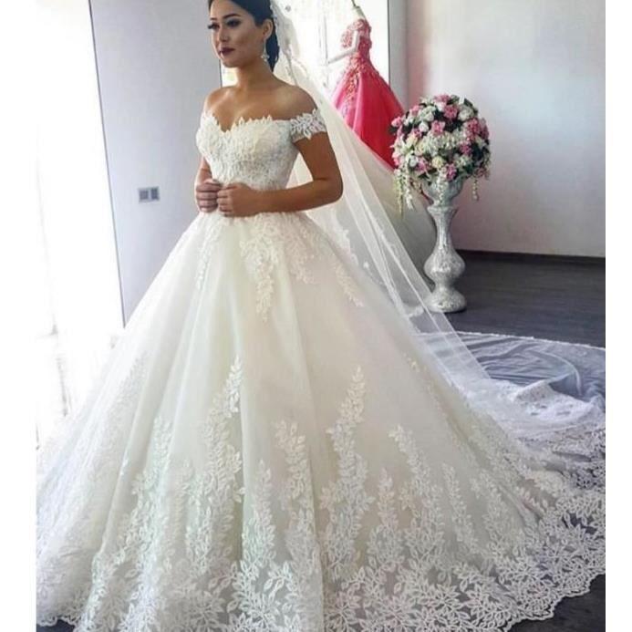 Pleine dentelle De Luxe robe de Bal Robes