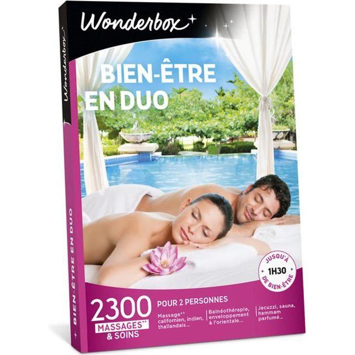 COFFRET BIEN-ÊTRE Wonderbox - Coffret cadeau pour deux - Bien-être e
