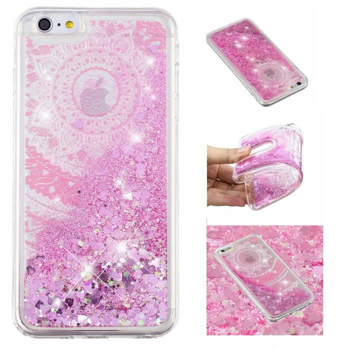 coque iphone 5 strass paillette